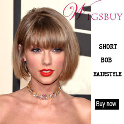 Wigsbuy Cute Short Bob Hairstyle Wigs