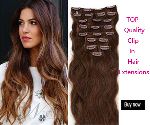 Wigsbuy Natural Clip in Hair Extensions