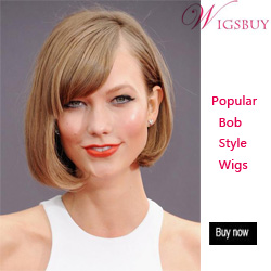 Wigsbuy Cute Bob Hairstyles Wigs With Bangs