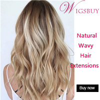 Wigsbuy Blonde Wavy Hair Extensions